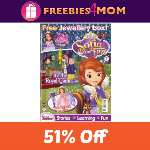 Magazine Deal: Disney's Sophia the First $13.99