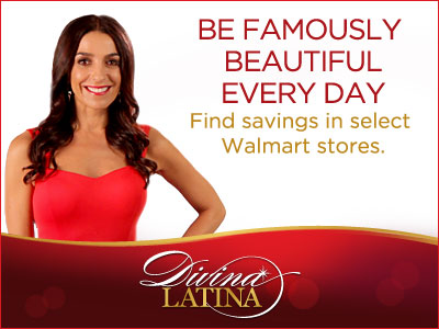 Divina Latina Be Famously Beautiful Every Day at Walmart