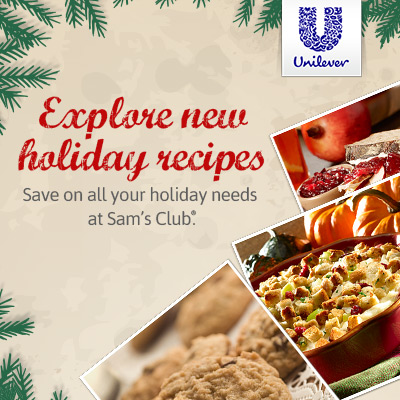 Holiday Recipes at Sam's Club