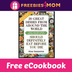 Free eCookbook: Dishes From Around the World