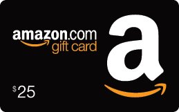 25 dollar Amazon gift card