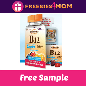 Free Sample Sundown Naturals B12