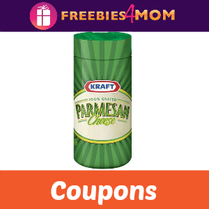 Coupons: Save on Kraft Parmesean Cheese