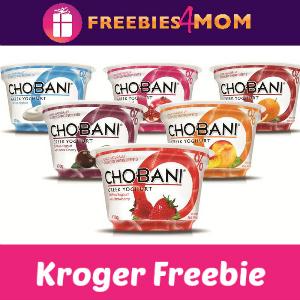 Free Chobani Greek Yogurt at Kroger