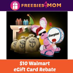 Rebate: Energizer Battery $10 Walmart eGift Card