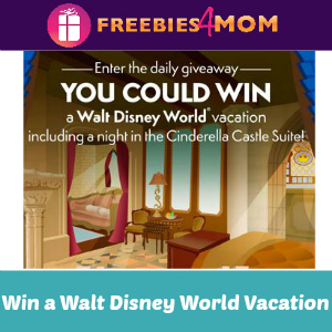 Win a Walt Disney World Vacation