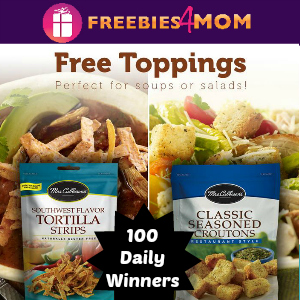 Sweeps Mrs. Cubbison's Salad Toppings Giveaway