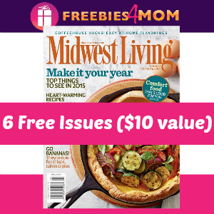 Free Midwest Living Magazine ($10 value)