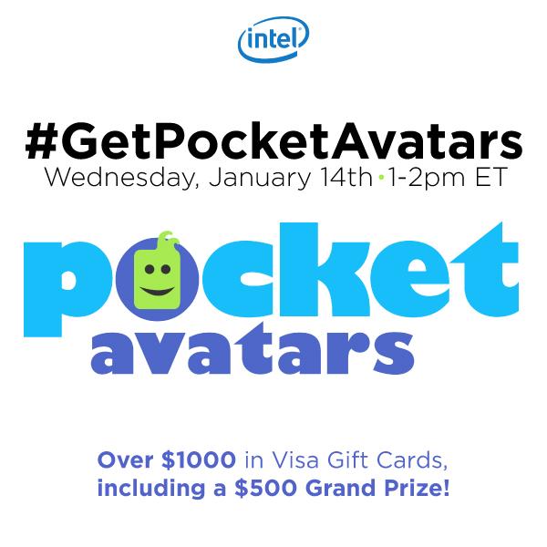 #GetPocketAvatars-Twitter-Party-1-14-1pmEST,#TwitterParty,#ad,sweepstakes on Twitter