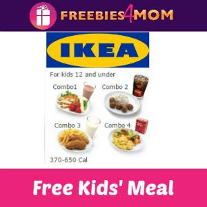 Free Kids' Meal at IKEA on Tuesdays