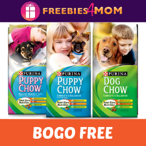 Coupon: Buy One Get One FREE Purina Dog Chow
