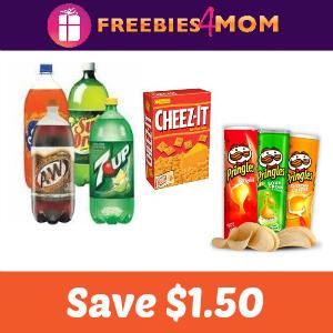 Coupon: Save $1.50 on Snacks & Drinks