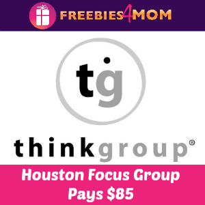 HOUSTON $85 Focus Group on Wednesday, Feb. 25