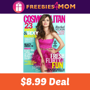 Magazine Deal: Cosmopolitan $8.99 for 2 Years