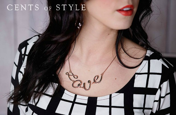 $7.95 Monogram Ring plus $4.95 Love Necklace (free shipping)