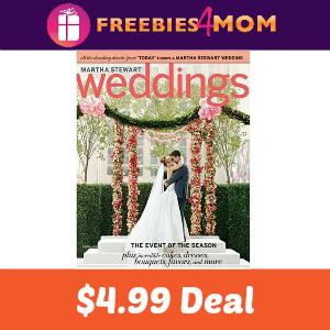 Magazine Deal: Martha Stewart Weddings $4.99