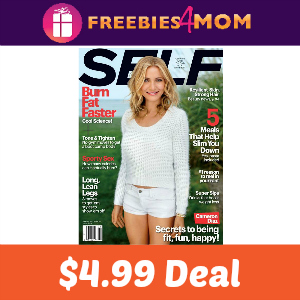 Magazine Deal: Self $4.99