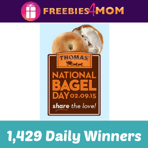 Sweeps: Thomas' National Bagel Day