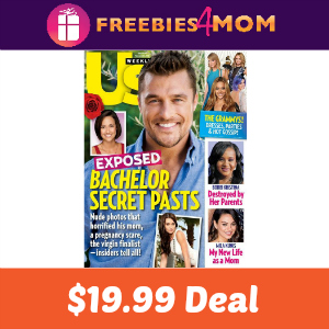 Magazine Deal: Us Weekly $19.99