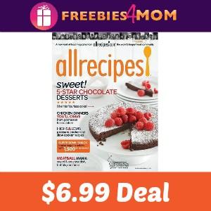 New Magazine Deal! Allrecipes $6.99