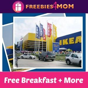 Free Breakfast (& More!) Saturday at IKEA