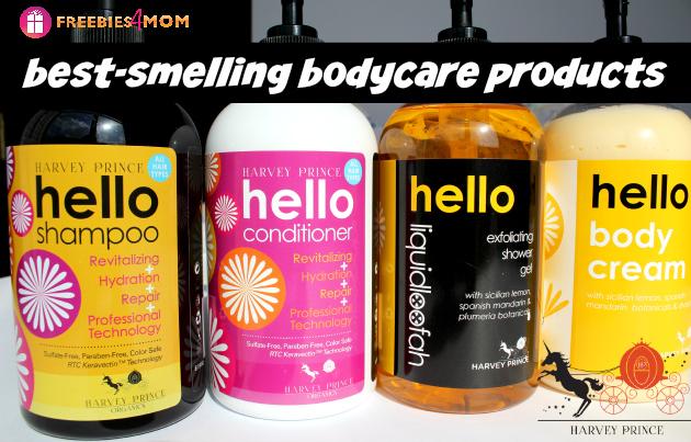 Hello Shampoo, Hello Conditioner, Hello Exfoliating Shower Gel and Hello Body Cream