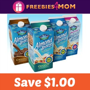 Coupon: Save $1.00 on Blue Diamond Almondmilk