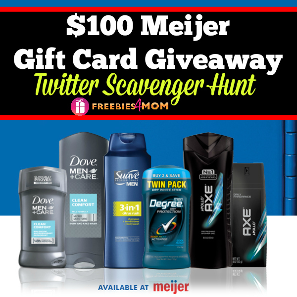 $100 Meijer Gift Card Giveaway Winner
