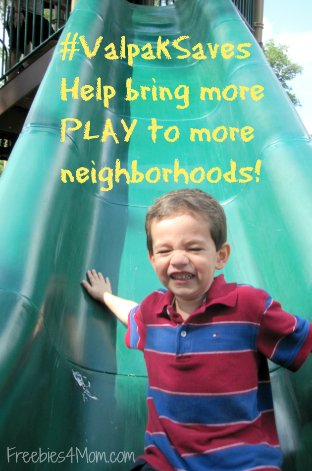 #ValpakSaves Gives Back to Neighborhoods ~ Use the KaBOOM! Map of Playgrounds