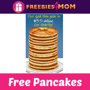 Free Pancakes at IHOP Tomorrow