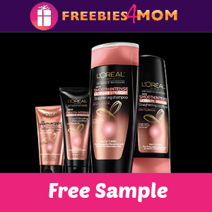 Free Sample L'Oreal Ultimate Straight