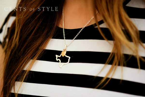 $11.95 State Necklaces (was $24.95) + Free Shipping
