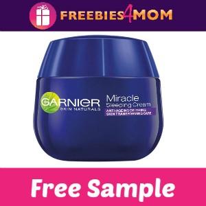 Free Sample Garnier Miracle Sleeping Cream