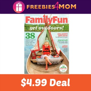 Magazine Deal: Family Fun $4.99