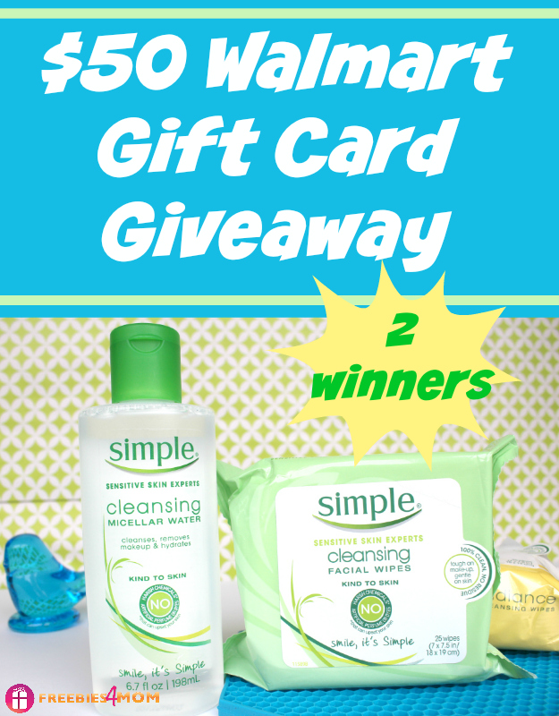 $50 Walmart Gift Card Giveaway ~ Be Kind To Your Skin #TestTheWater