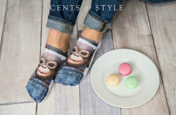 Printed Socks $6.95 + Free Shipping