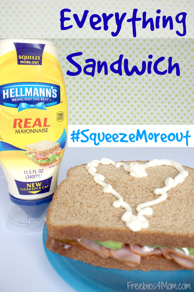 Everything Sandwich Recipe plus Hellmann's Coupon