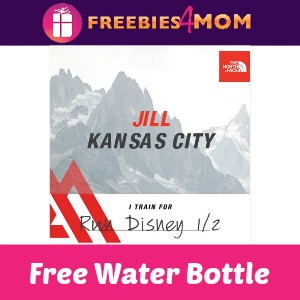 Free Water Bottle at The North Face Store