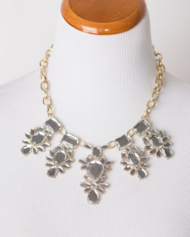 Crystal Statement Necklaces $7.99