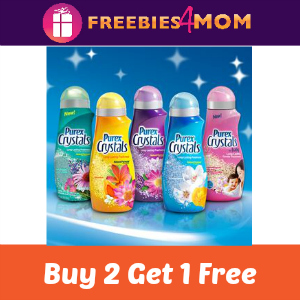 Coupon: Purex Crystals Buy 2 Get 1 Free