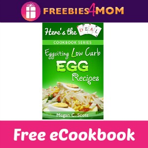 Free eCookbook: Eggciting Low Carb Egg Recipes