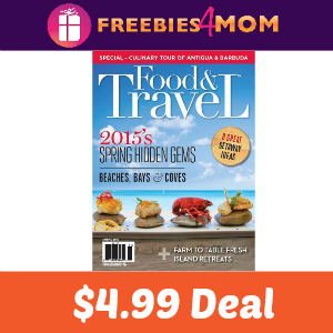 Magazine Deal: Food & Travel Quarterly $4.99