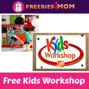 Free Kids Workshop at Home Depot June 6