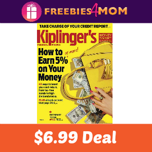Magazine Deal: Kiplinger's Personal Finance $6.99