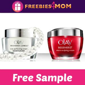 Free Sample Olay Regenerist (Choose from 2)