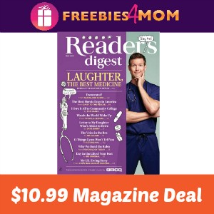 Magazine Deal: Reader's Digest $10.99