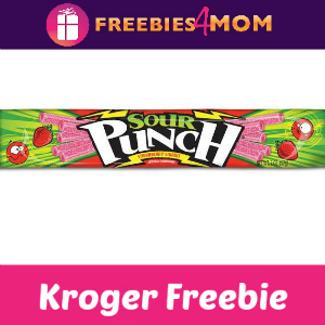 Free Sour Punch Strawberry Straws at Kroger