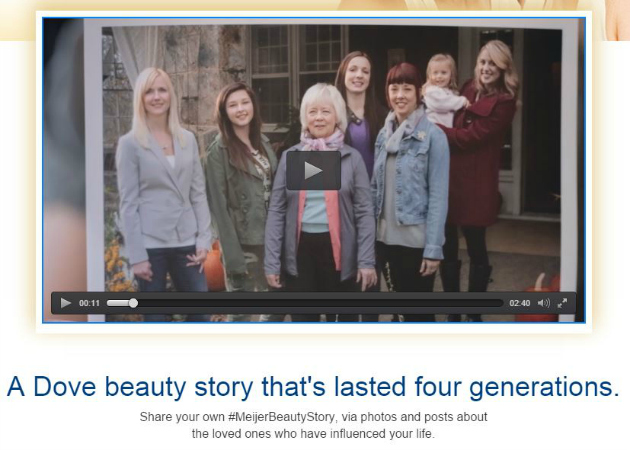 Dove Beauty Story Video