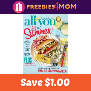 Coupon: Save $1.00 on June All You