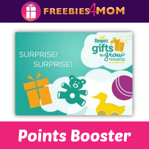 Pampers Points Booster (Up to 140 Points!)